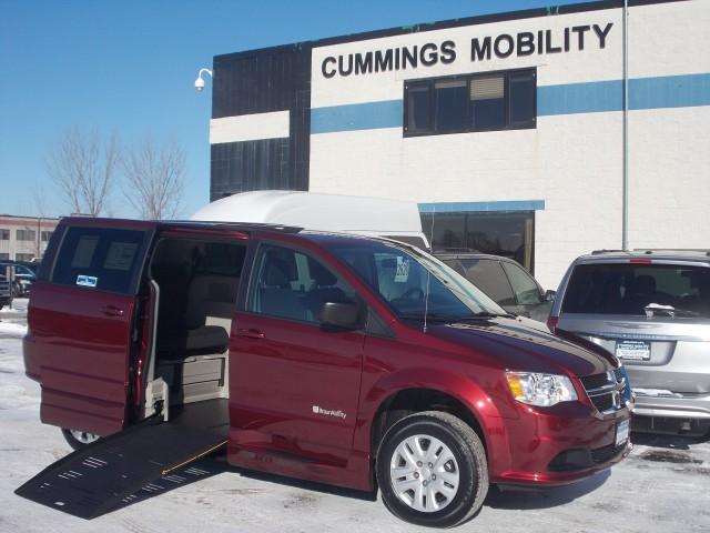 2018 Dodge Grand Caravan Commercial Vans ADA Entervanwheelchair Van For Sale